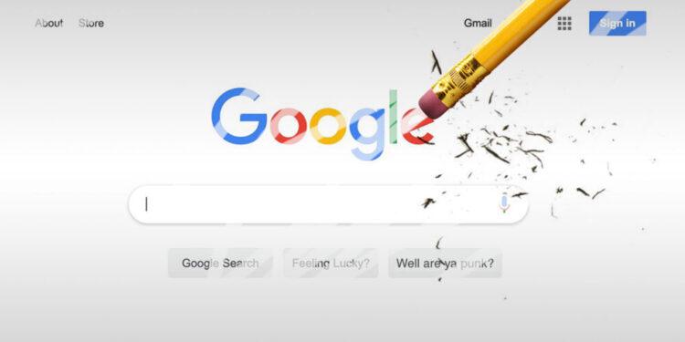 Hak Untuk Dilupakan: Google Didenda 600 Ribu Euro