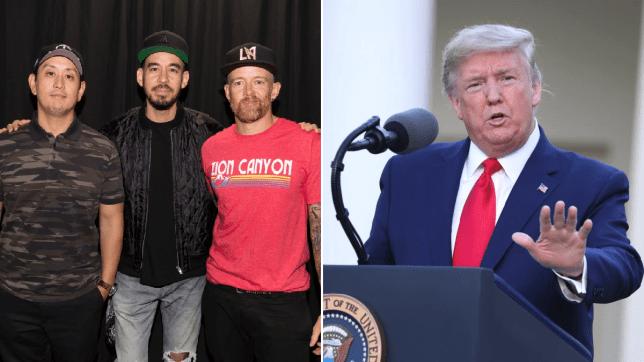 Linkin Park Ambil Tindakan setelah Donald Trump Melakukan Retweet