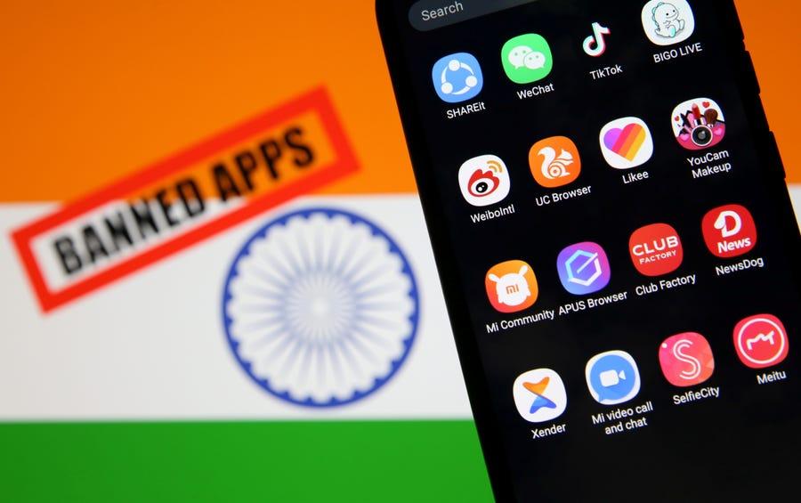 (Lagi) : India Larang 118 Aplikasi dari China