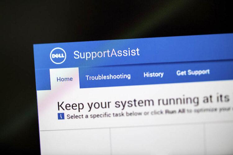 Bug Dell SupportAssist Ancam Lebih Dari 30 juta PC